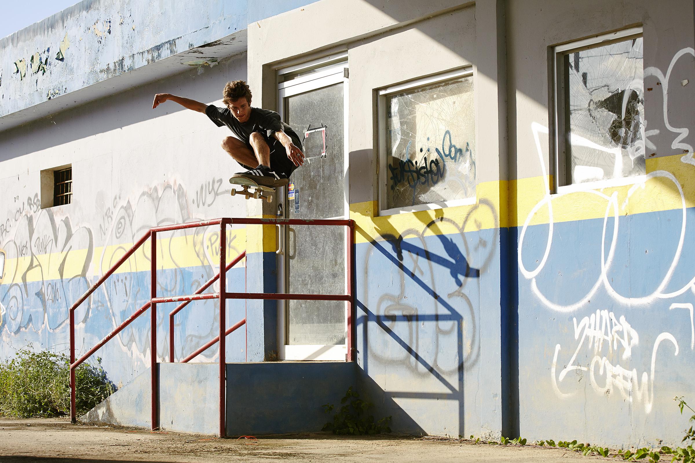 Jimmy Lannon - Ollie - Manati, Puerto Rico - Photo: Will Jivcoff