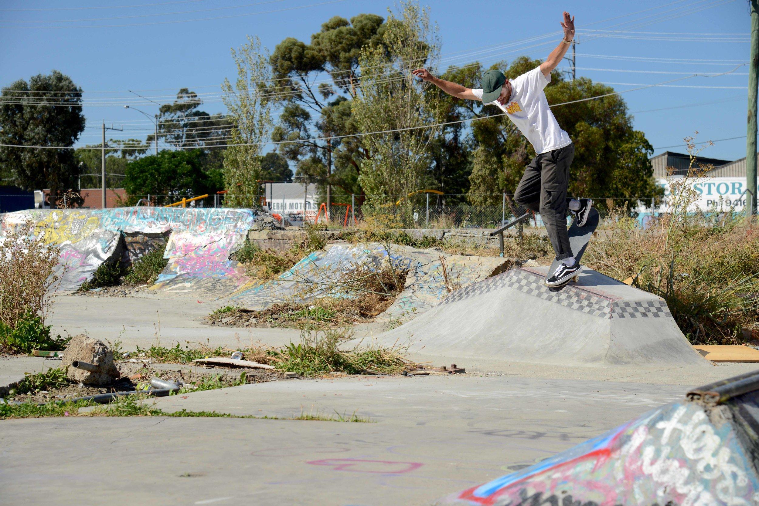 Ben Hermans, Gap to BS Noseblunt - Preston, Australia - Photo: Andrew Mapstone