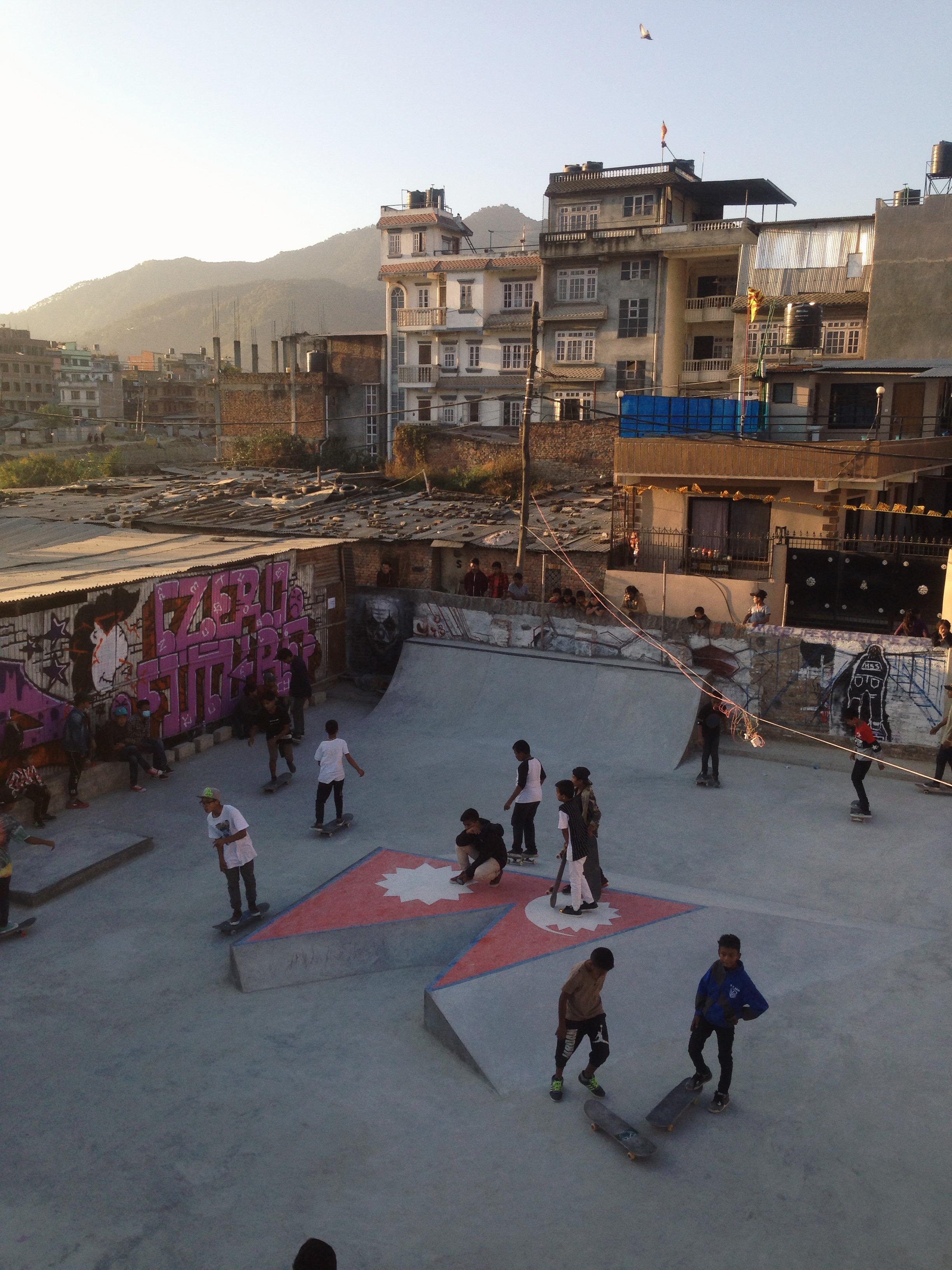 Kathmandu Skatepark, Nepal - Photo: Ben Hermans