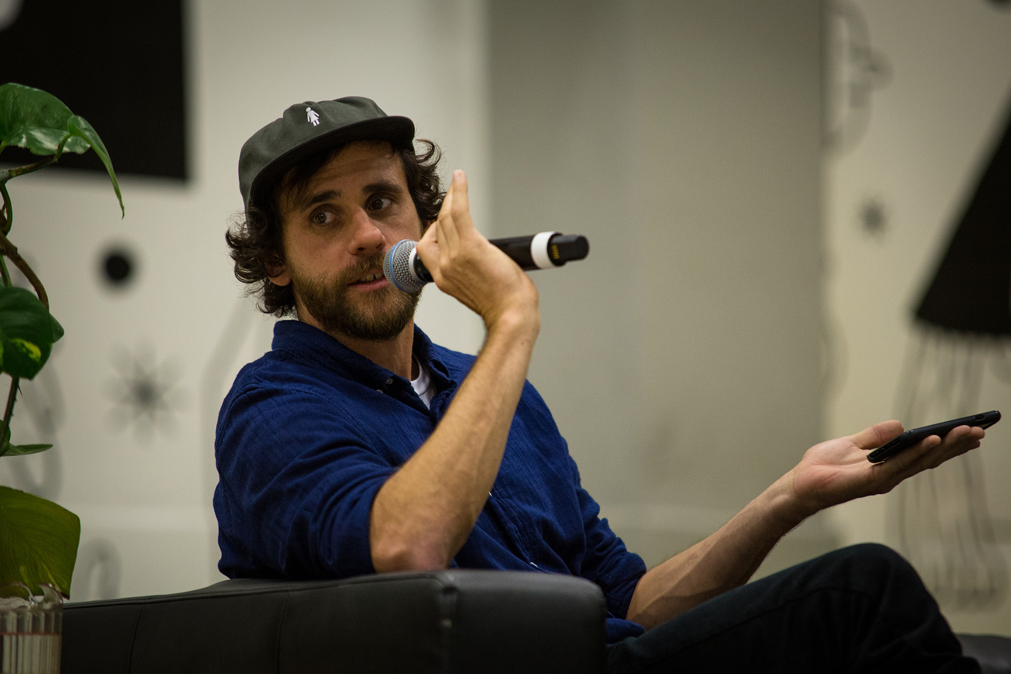 Chair of the 'Skate & Educate' panel, Rick McCrank. Photo: Emil Agerskov