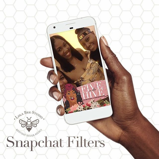 Make sure your event is branded to the very last detail! Lola Bee Studio is now offering snapchat filters at an introductory price 15% off. Hit the email button in our bio 🐝✨ #fiveinthehive #businesscards #logodesign #creativedirector #branding #marketing #logo #visionary #design #art #graphicdesign #womeninbusiness #bossbabes #femaleentrepreneur  #detroit #graphicdesigner #creativeconsultant #lolabeestudio #snapchat #snapchatfilter