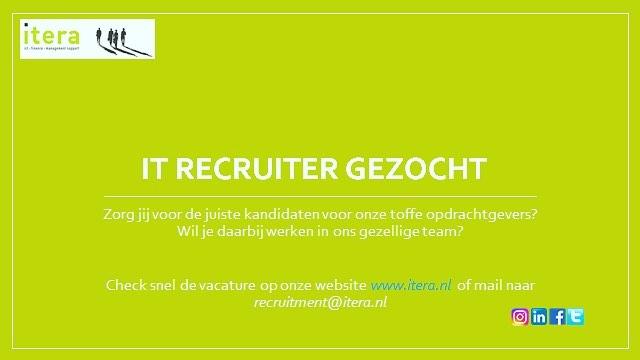 Word jij onze nieuwe collega?  Solliciteer snel!  #arbeidsbemiddeling  #ict  #recruiter #detachering