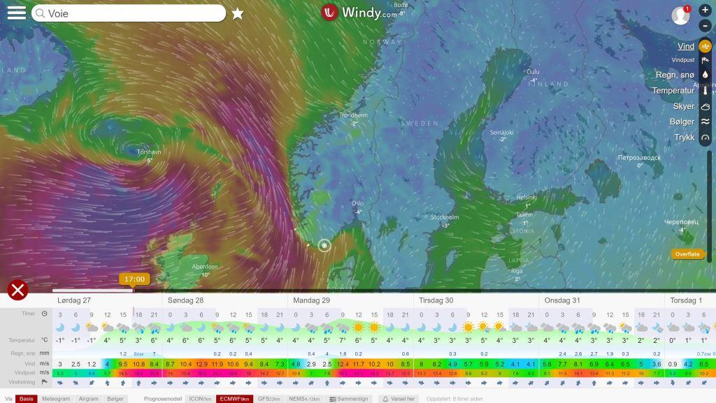 Windy - https://www.windy.com/station/wmo-01448?57.848,8.869,9
