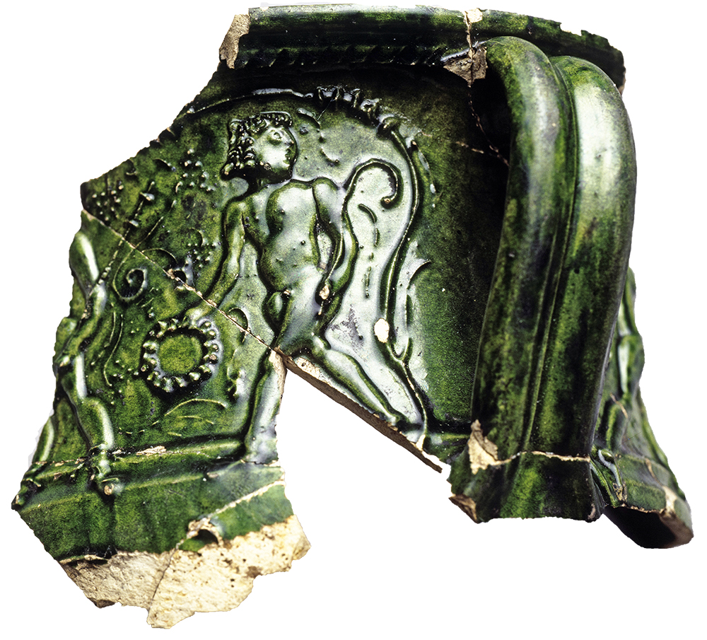Green glazed cup - pottery from the empire.jpg