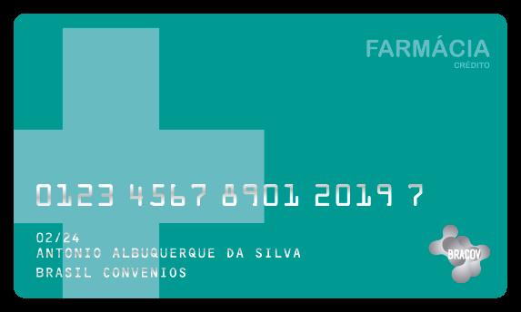 Cartão Farmácia  com desconto em folha de pagamento ou pré pago pela empresa e de uso exclusivo em farmácias.