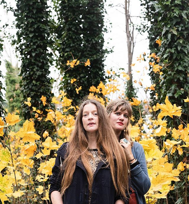 Meg Baird and Mary Lattimore for The Wire Magazine  @meglingbaird @maryoverthere @thewiremagazine  Such a pleasure meeting Meg and Mary ❤️ thanks to @bvwnr