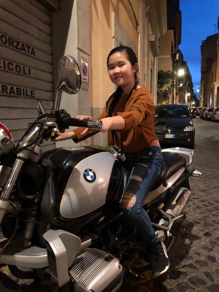 Jenna, Class of 2018 - In Rome for Montessori Model UN