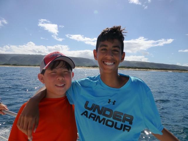 Aiden & Noah, Class of 2016 - Grad trip to Kauai