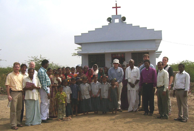 Dedication of the church in Nachugunta, India