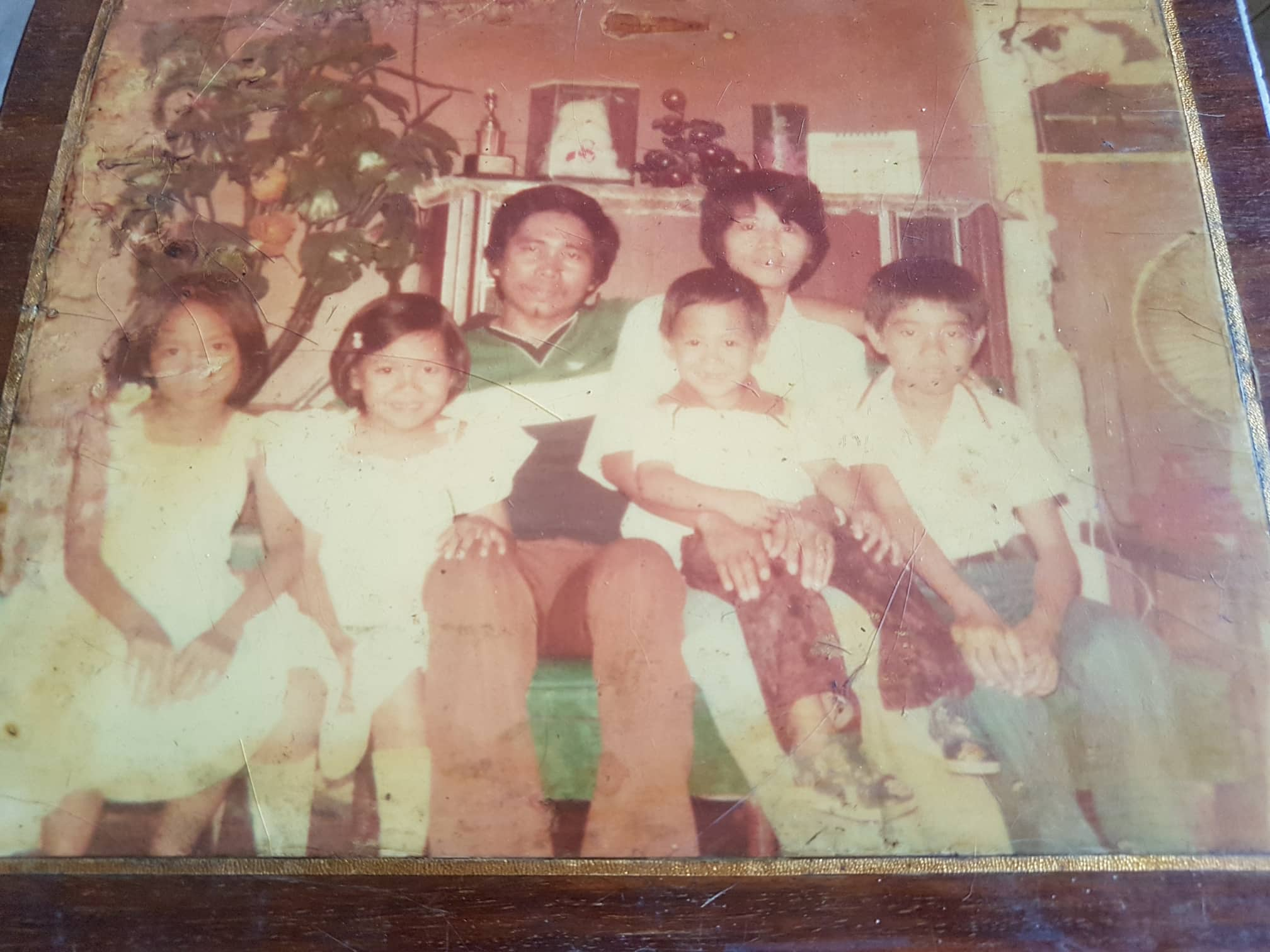 Tita and Emet with Young Children