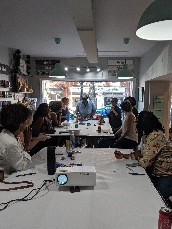 Last workshop at AR Workshop in Alexandria