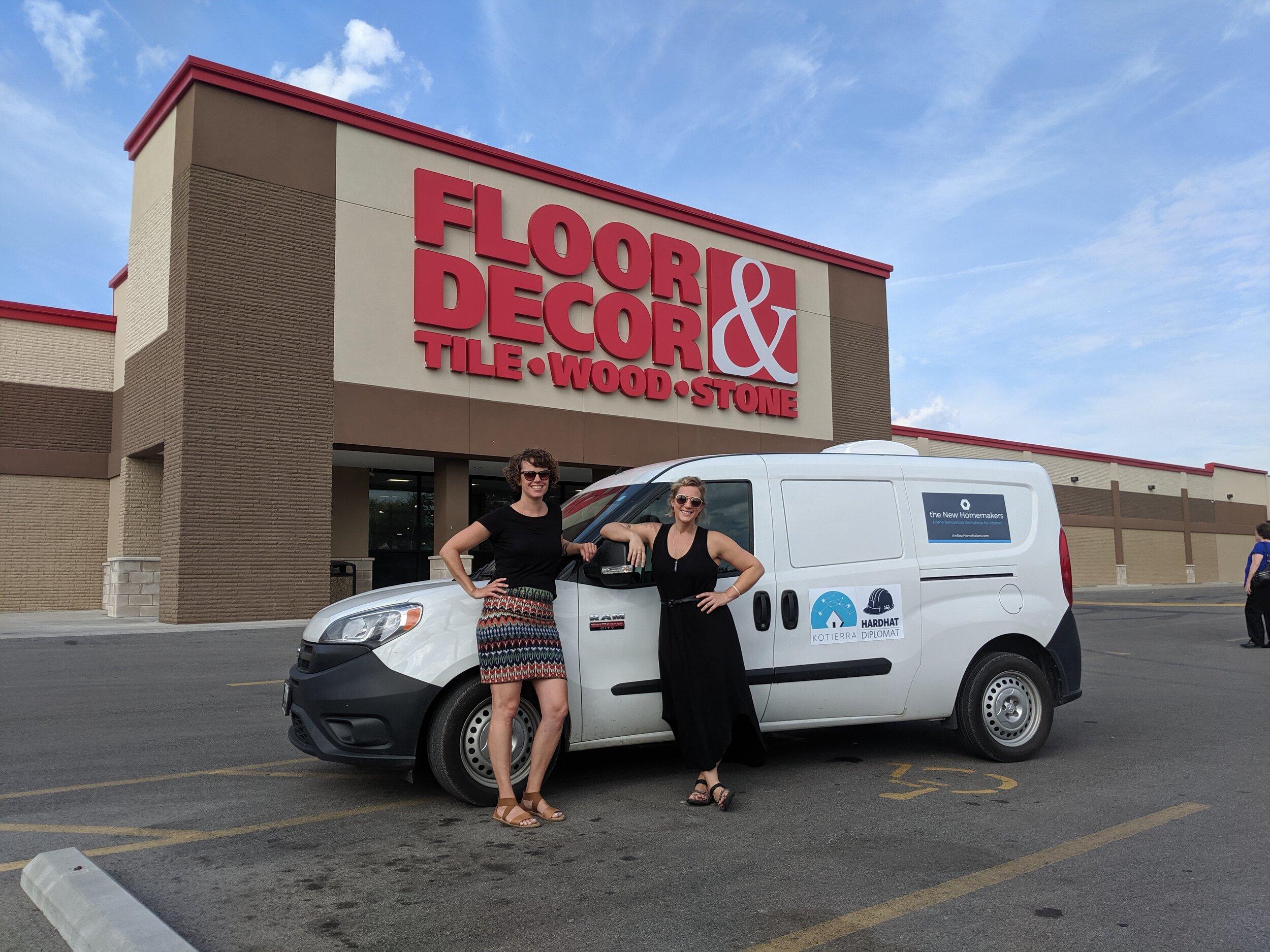 Our National Sponsor - Floor & Decor