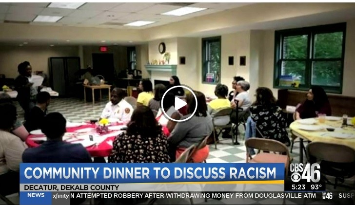 Community Dinners Tackle Racism - CBS 46 NEWS