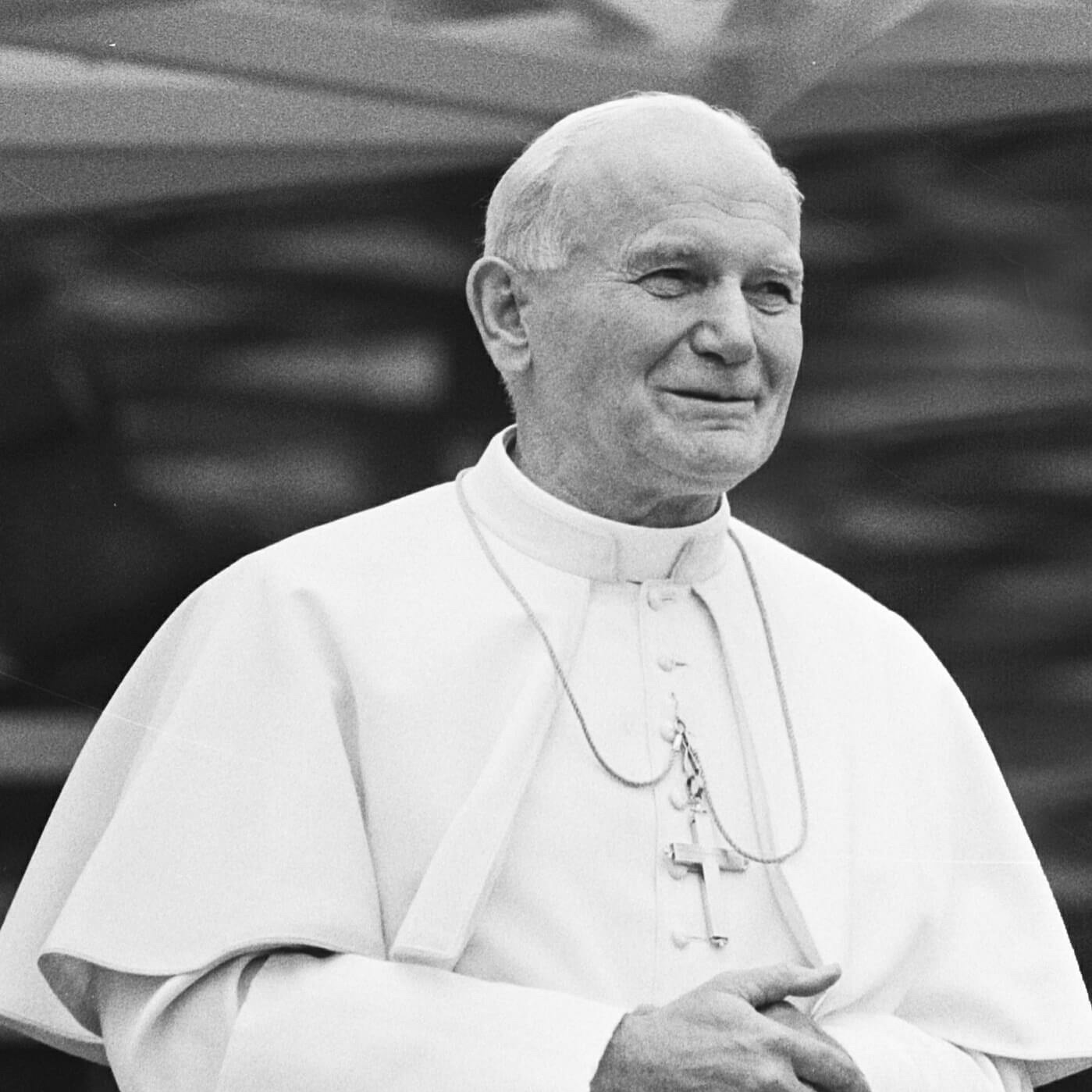 "St. Pope John Paul II - Letter on the Bicentenary of Newman's birth22 January 2001Newman was born in troubled times which knew not only political and military upheaval but also turbulence of soul. Old certitudes were shaken, and believers were faced with the threat of rationalism on the one hand and fideism on the other. Rationalism brought with it a rejection of both authority and transcendence, while fideism turned from the challenges of history and the tasks of this world to a distorted dependence upon authority and the supernatural. In such a world, Newman came eventually to a remarkable synthesis of faith and reason which were for him like two wings on which the human spirit rises to the contemplation of truth … ""Lead kindly light amid the encircling gloom, lead Thou me on"", Newman wrote in The Pillar of the Cloud; and for him Christ was the light at the heart of every kind of darkness. For his tomb he chose the inscription: Ex umbris et imaginibus in veritatem; and it was clear at the end of his life's journey that Christ was the truth he had found."