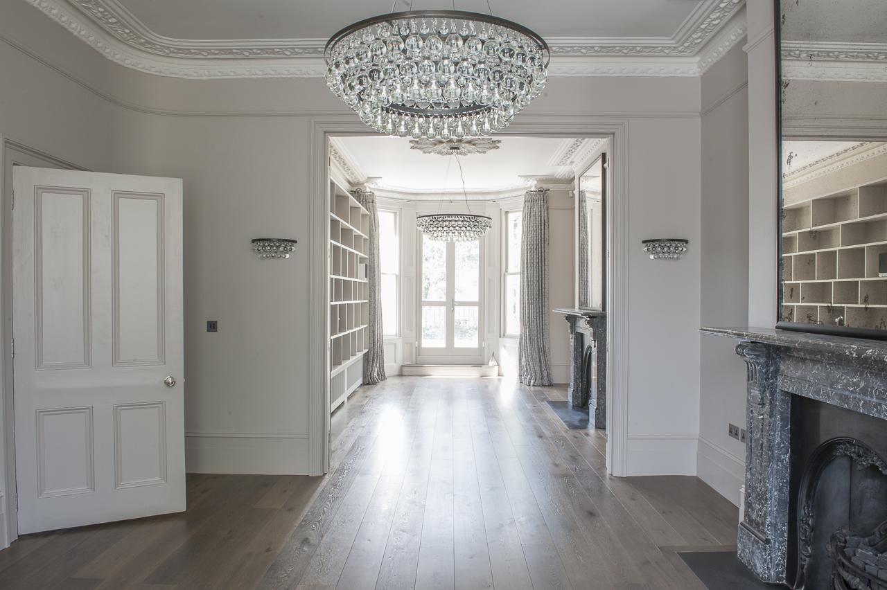 Hampstead interior refurbished