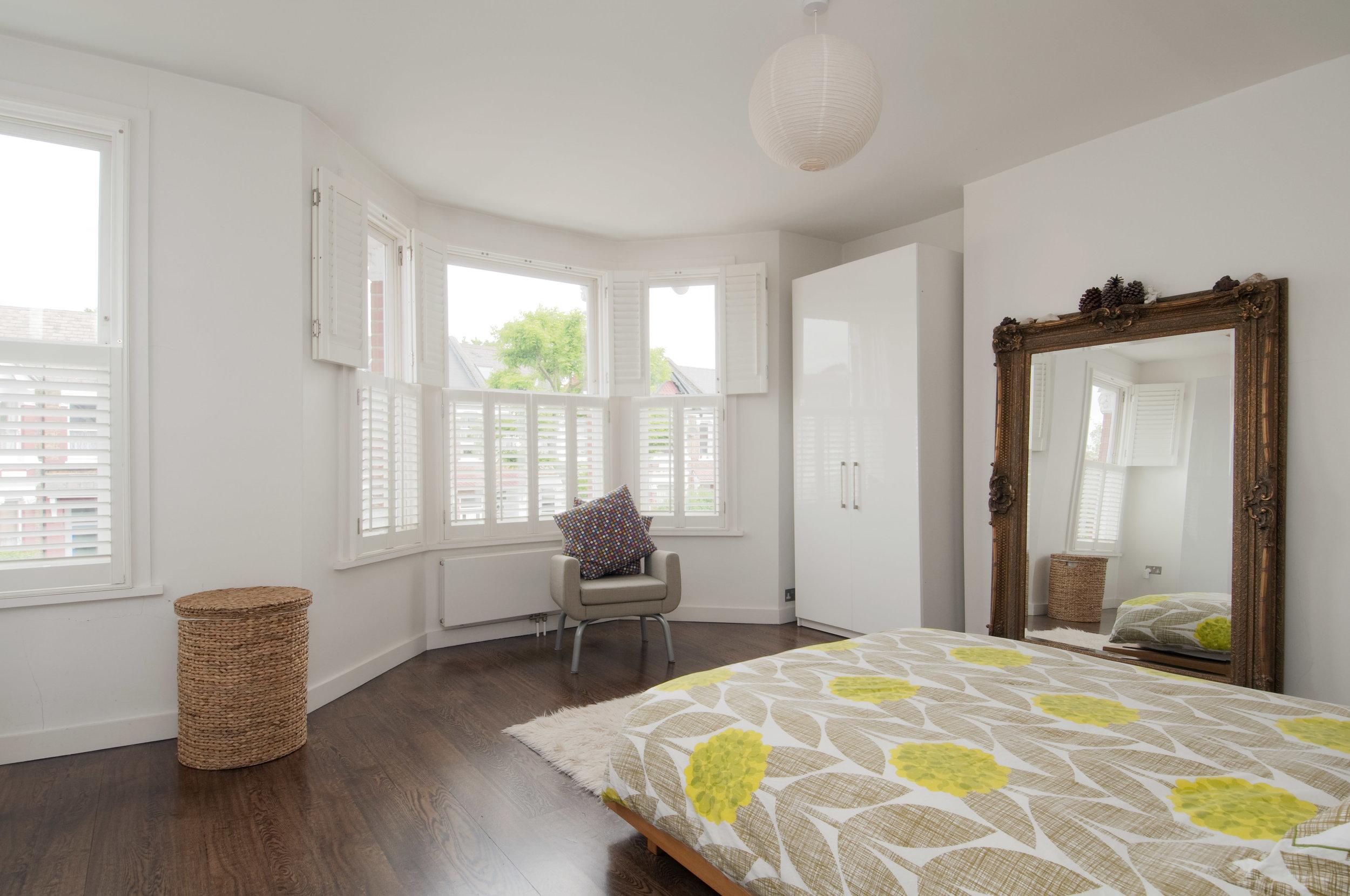 Queens Park master bedroom