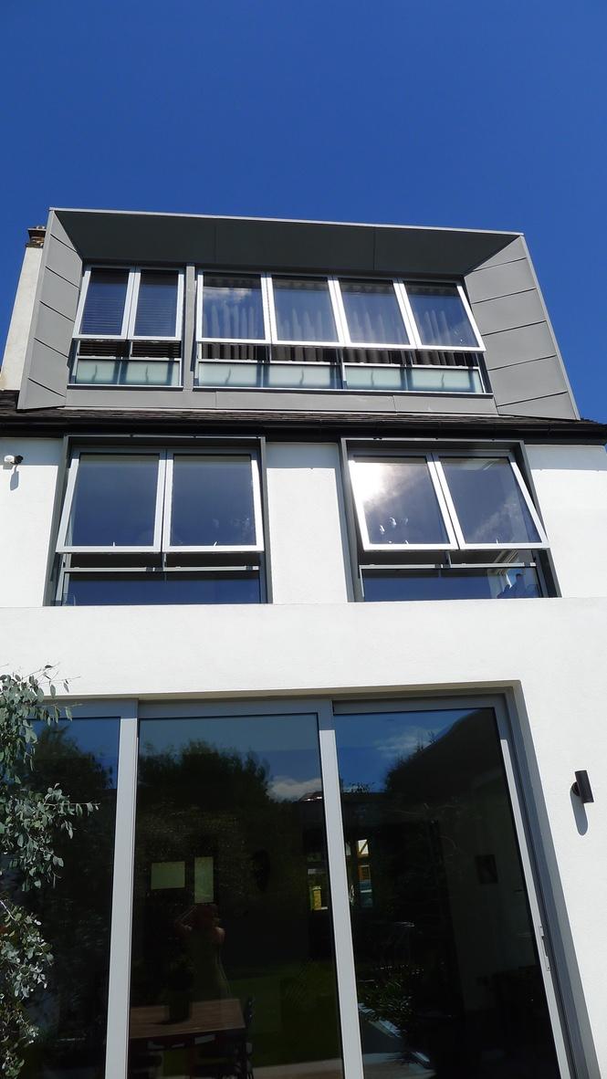 Kensal Rise zinc clad loft conversion