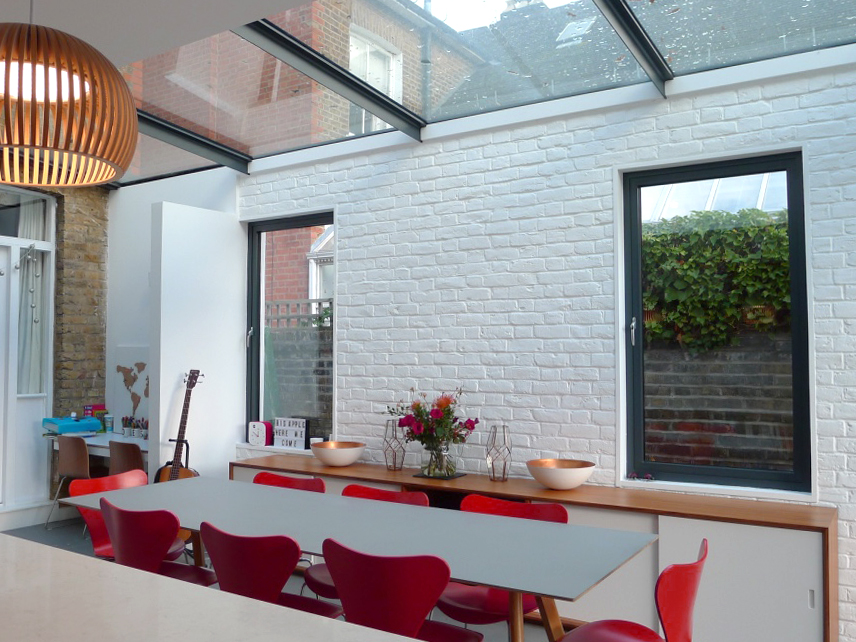 Kew contemporary extension