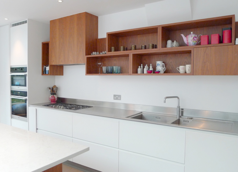 Kew contemporary extension kitchen