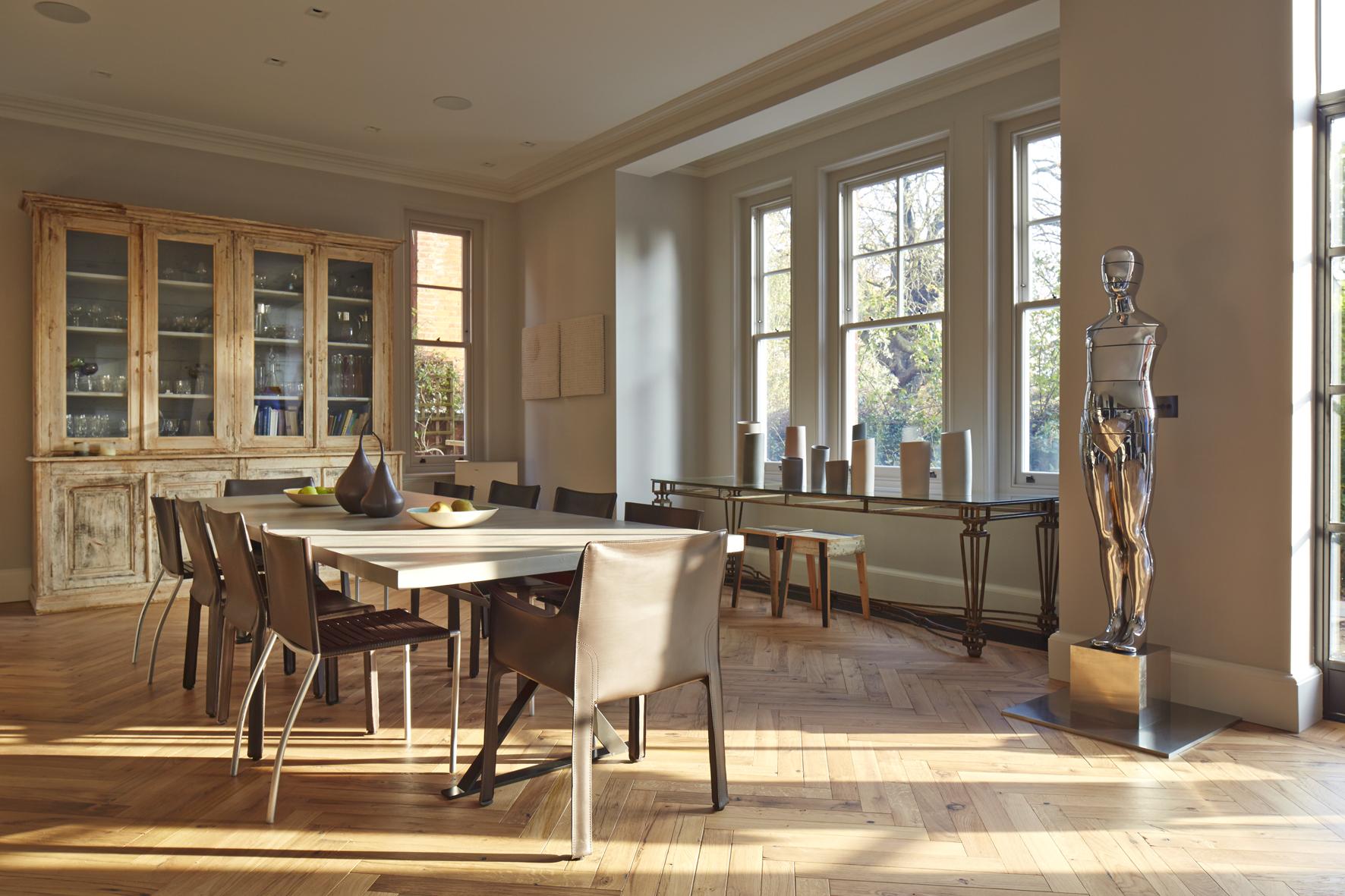 Hampstead dining room interior