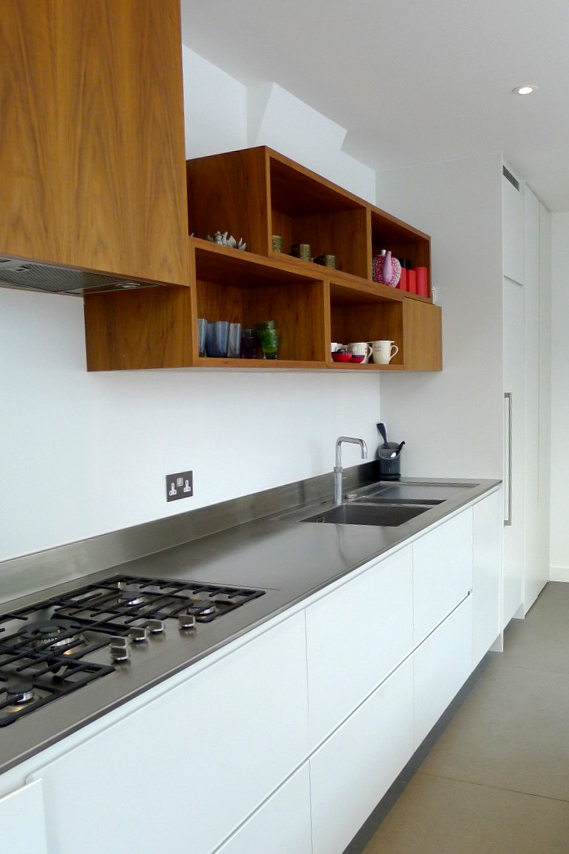 Kew contemporary bespoke kitchen