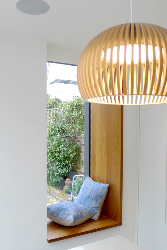 Kew contemporary extension window seat