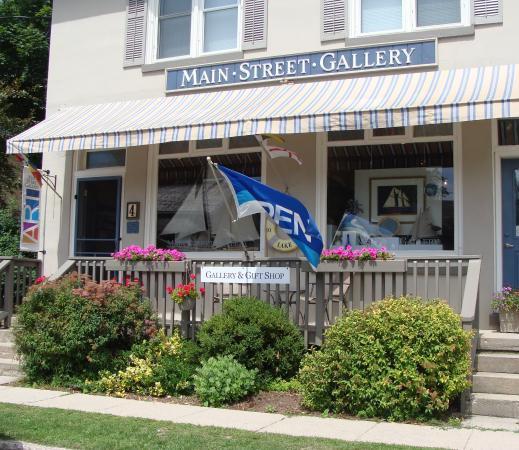 Mainstreet Gallery - Bayfield, OntarioMain Street Gallery is located in the picturesque and historic village of Bayfield Ontario, located on the shores of Lake Huron. The gallery exhibits the work of many award-winning Artists and Artisans including Painters, Potters, Photographers, Wood Turners and Carvers, Sculptors, Jewellers, Textile, Glass, Metal and Ceramic Artists. The gallery is owned and operated by Jim and Linda Taleski.