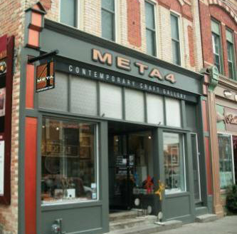 Meta4 Gallery - Port Perry and Peterborough, OntarioMETA4 Gallery is Ontario's premier destination for fine craft, original art and invigorating studio programs for all ages. Opened in 2005 in historic downtown Port Perry, META4 Gallery expanded to a second location in Peterborough's busy downtown in November 2017. These two artistic hubs are owned by three artist-entrepreneurs, Jennifer Hardie, Birgitta MacLeod and Bonnie Thomson.https://www.meta4gallery.ca