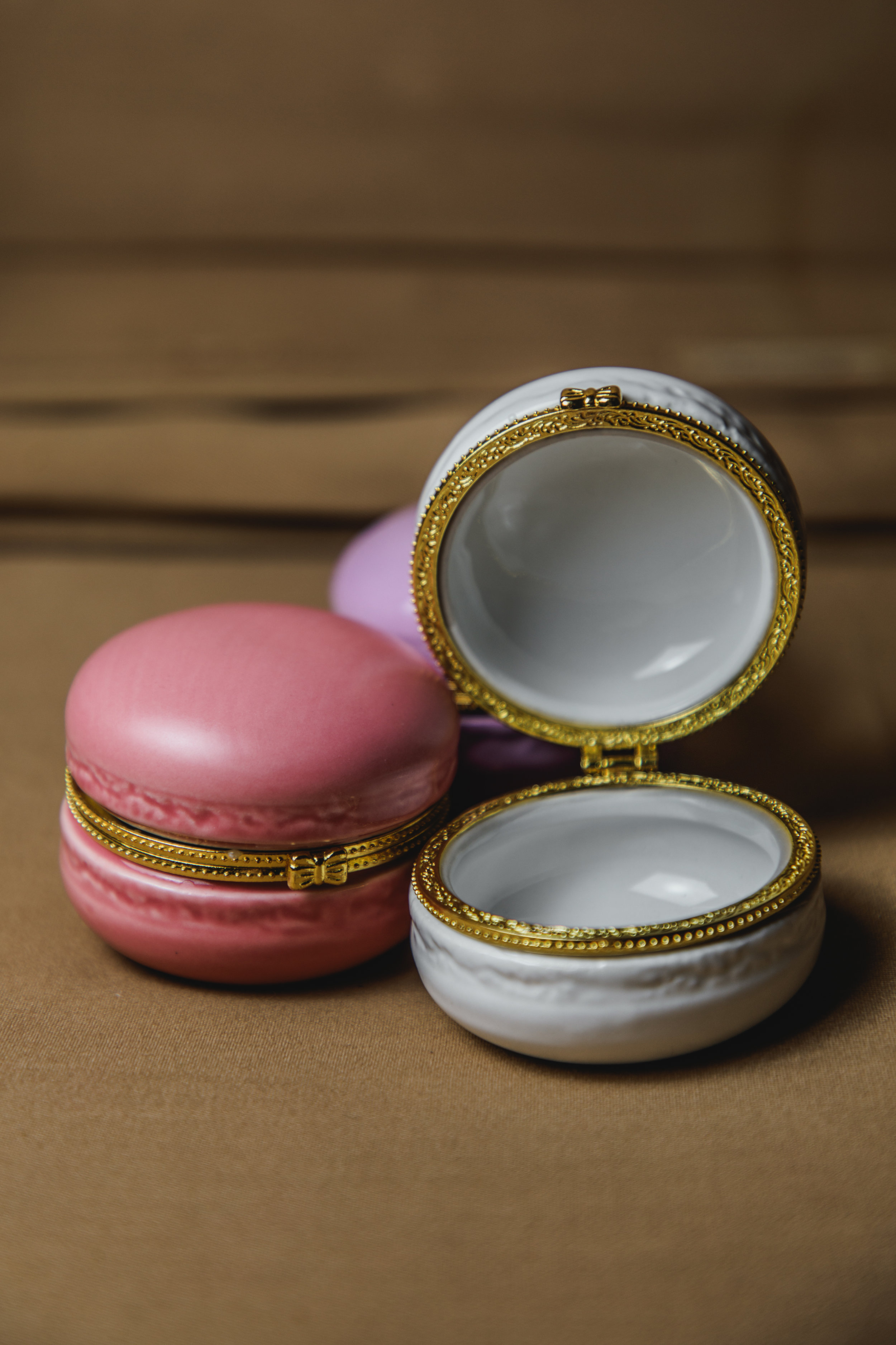 $10 | Macaron Ring Dish Set