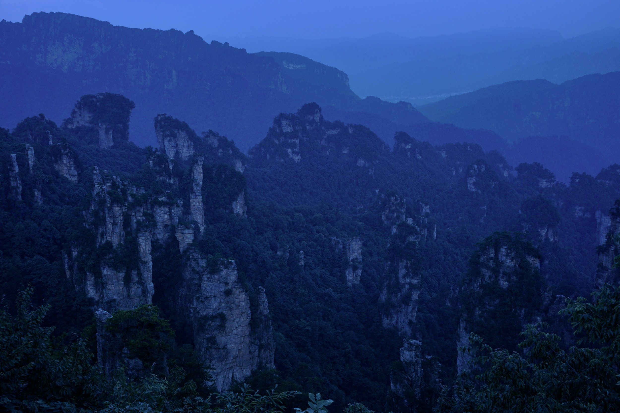 Zhangjiajie National Forest Park, Hunan Province, China.