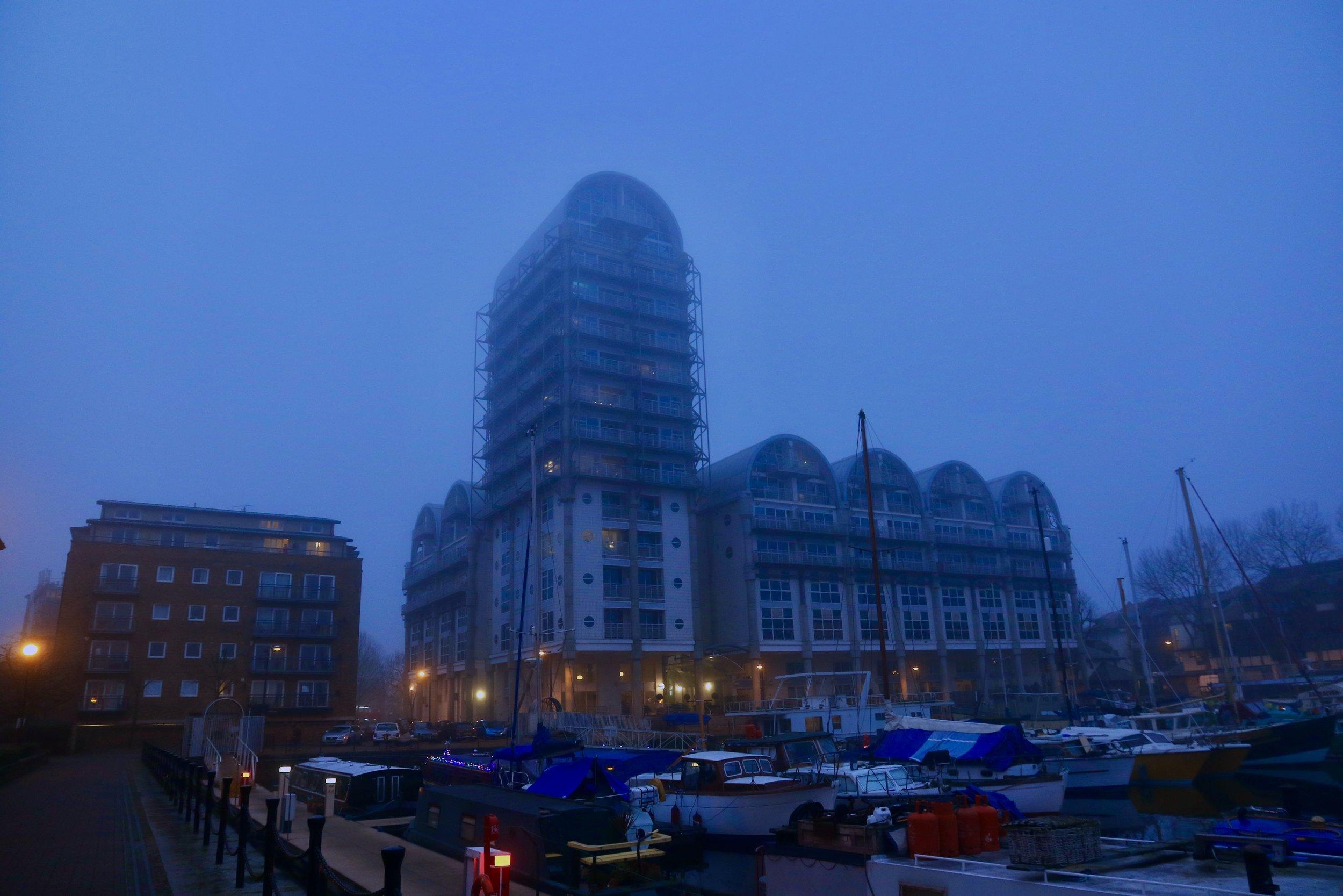 Surrey Quays, London.