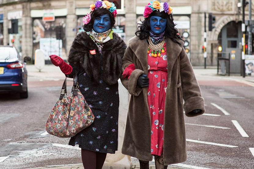 The Blue ladies from our 2017 Funny Things Festival