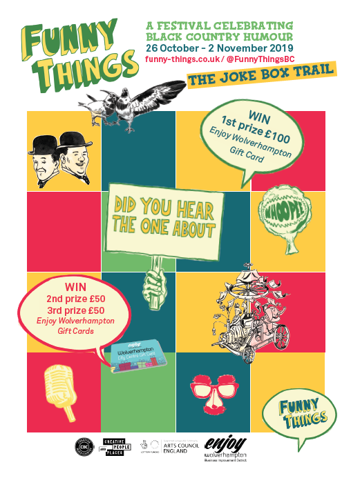 Look out for the Joke Box Trail flyer