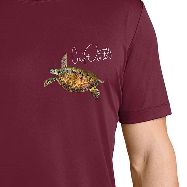 Painted Turtle with color options!  Buy now at dietrichclothing.com