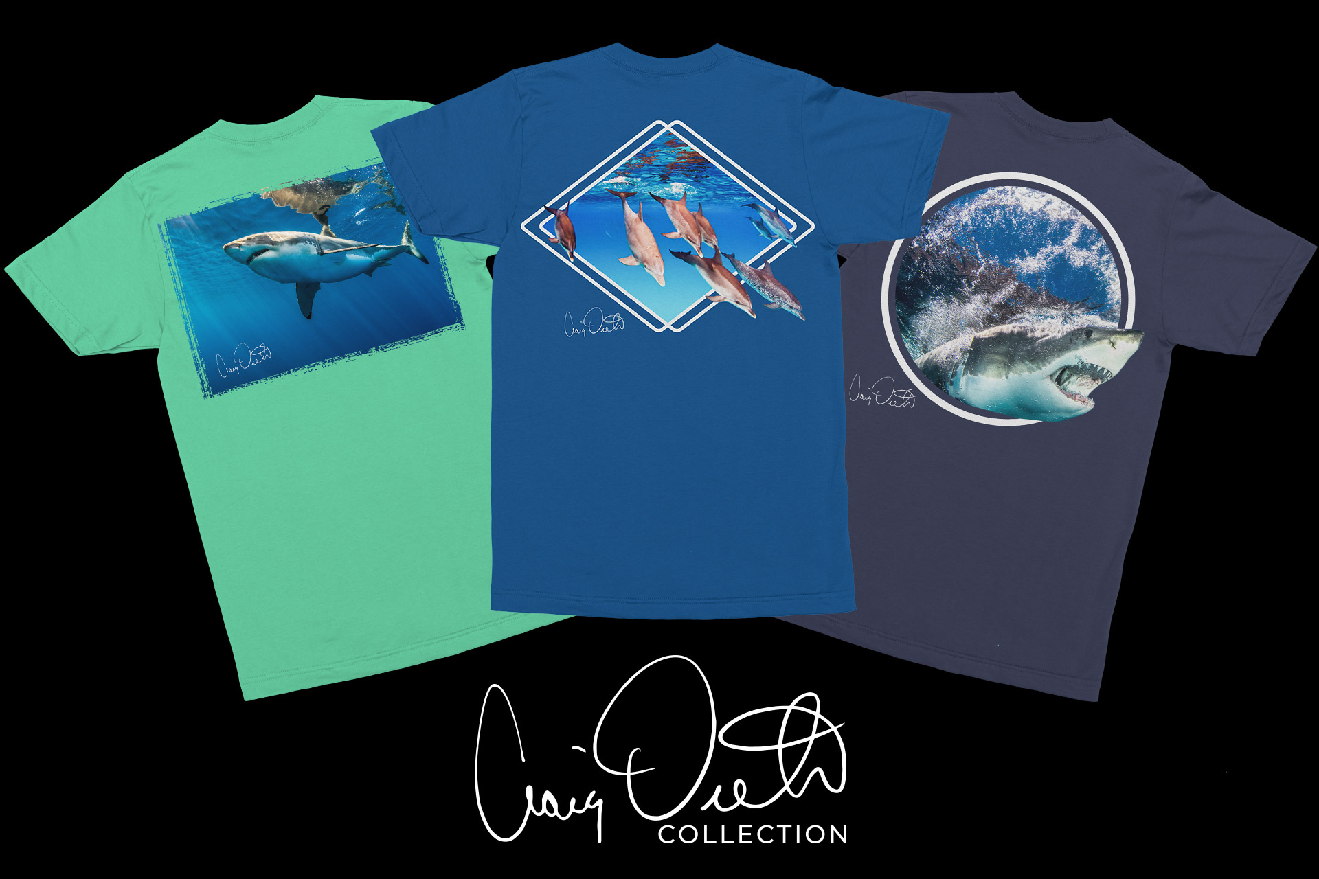 apparel made for ocean lovers. -