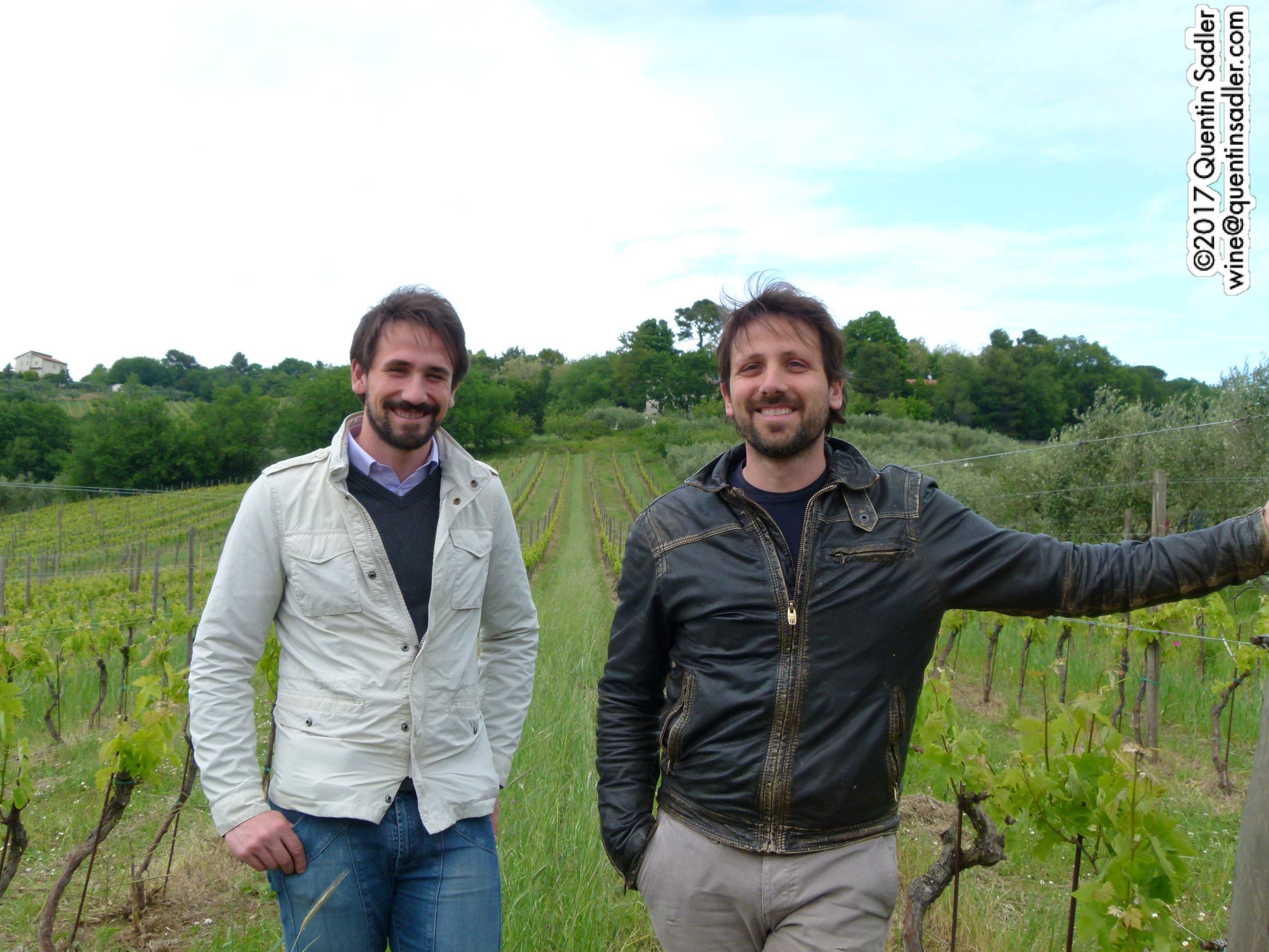 Marco and Mattia Moroder in the vineyard.jpg