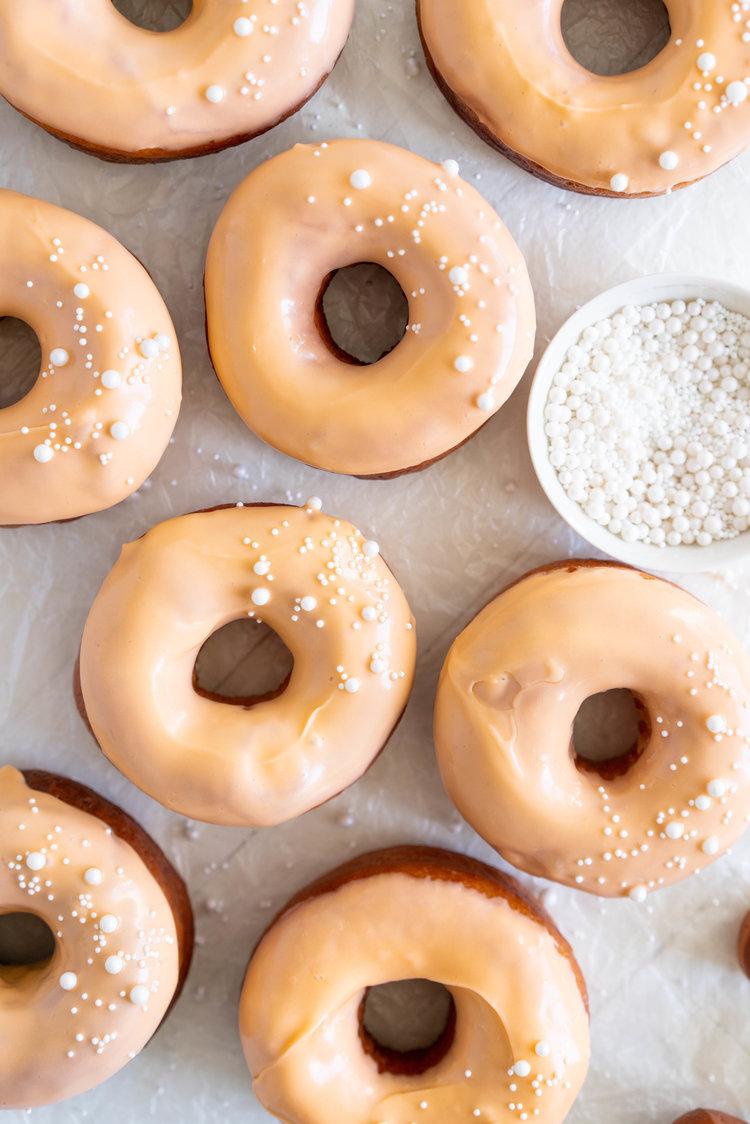 Cloudy Kitchen: Orange Brioche Doughnuts
