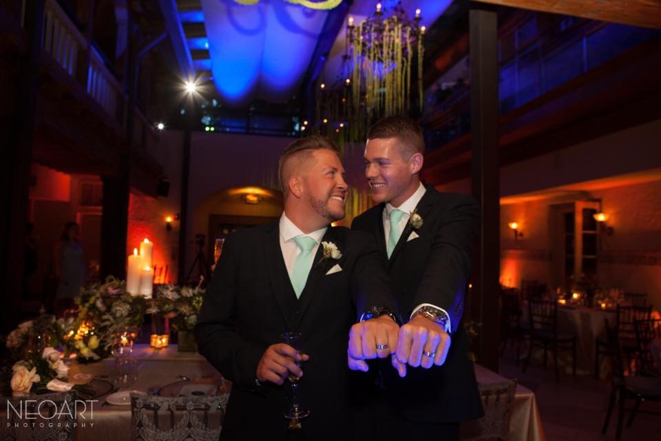 Travis & Bryson - We had the pleasure of working with Stacey for our wedding that just took place a little over a month ago. We were her very first gay marriage. At the time we asked to work with Stacey gay marriage was not yet legal in the state of Florida, but Stacey went out on a whim and took the leap of faith and worked with us. We are still floating on cloud nine. Our wedding was everything that we wanted and more. We fell in love with Stacey during out first conference call with her and just knew that she was the Wedding Planner for us. Her creativity and vision is exceptional. She truly takes the time to get to know her clients not only professionally but personally which I feel helps her create that magical feeling that everyone should share on their wedding day. From start to finish she made our wedding planning and experience as easy as can be. Stacey is truly a gifted planner, and knows what she is doing. Thank you Stacey for making our wedding spectacular. It was truly the best night of our lives thus far, and we feel like we have fallen in love 10x more than we already were. Our friends and family are still talking about the wedding and saying it was the best wedding they've been to. Thanks to YOU.....I highly recommend her for event planning, destination weddings, local weddings, anything.....She can do it! We love you so much!