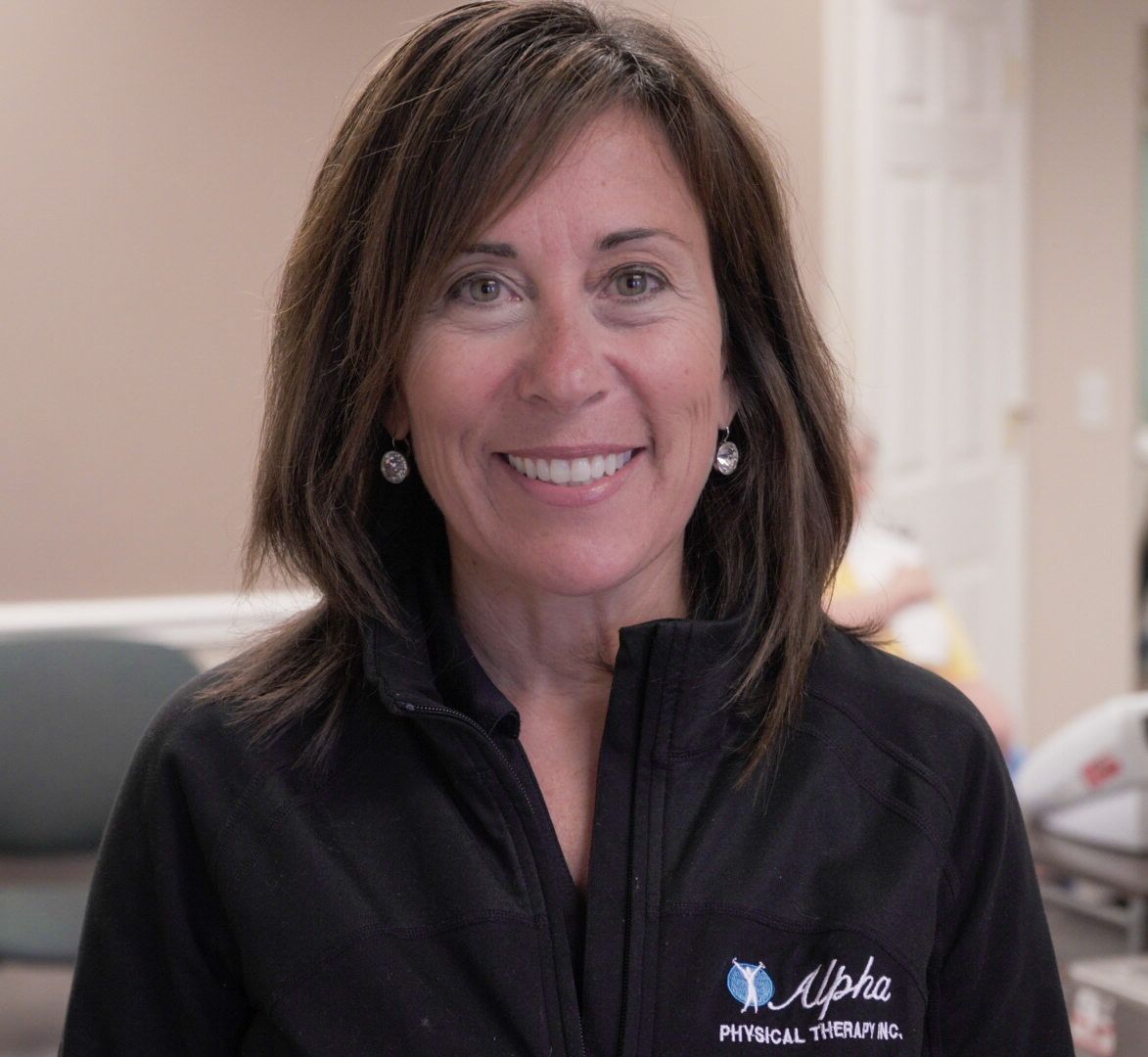 Susan Soscia P.T., ATC Director of Rehabilitation - After graduating from Quinnipiac College in Hamden, CT in 1990, Susan went on to pursue her Fellowship in Advanced Sports Medicine from the American Sports Medicine Institute in Birmingham, AL under Dr. Andrews. Susan opened the doors to Alpha Physical Therapy in June of 2000 and brought with her extensive experience in advanced sports medicine and physical therapy. She enjoys bringing prevention and treatment awareness to the youth, and this enthusiasm has served as the springboard to her being the athletic trainer for the city of Cranston servicing Cranston West and Cranston East High Schools sports teams.