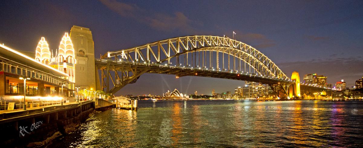 RK Green Studios Sydney Australia Harbor Bridge Evening 4.jpg