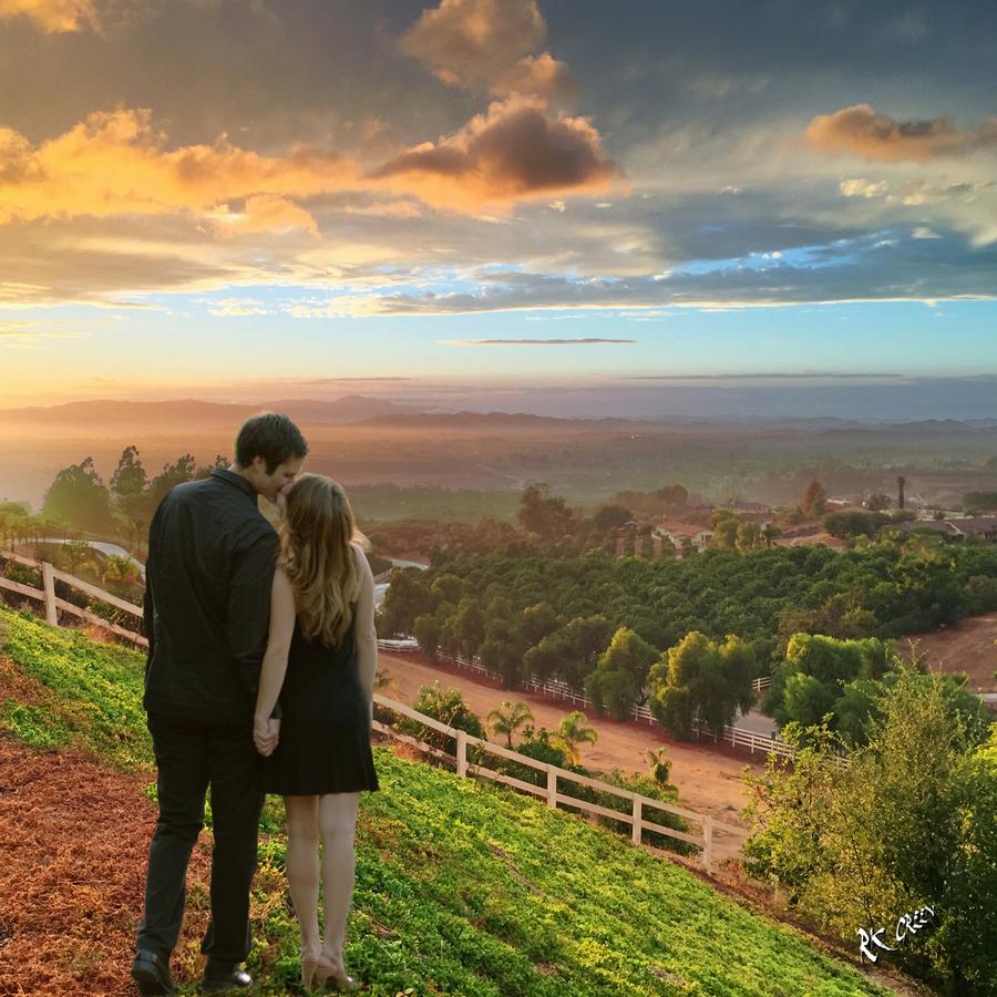 RK Green Studios Engagement Temecula Wine Country Sunset 5.jpg