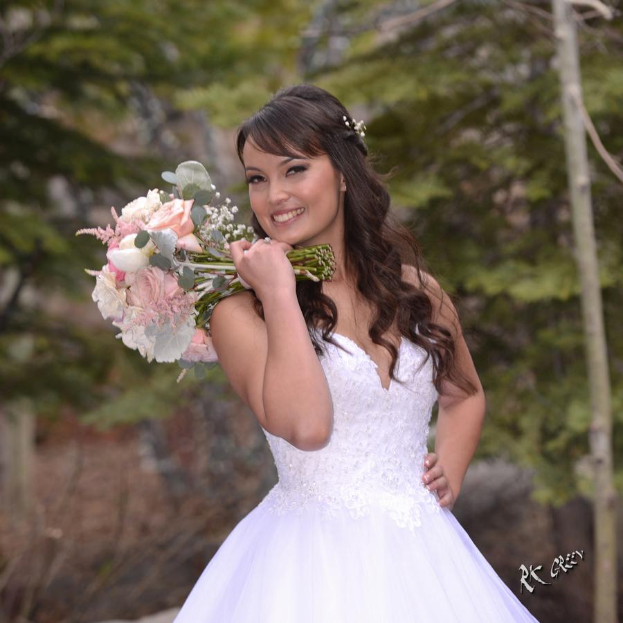 RK Green Studios Yosemite Bride in the pines 4.jpg