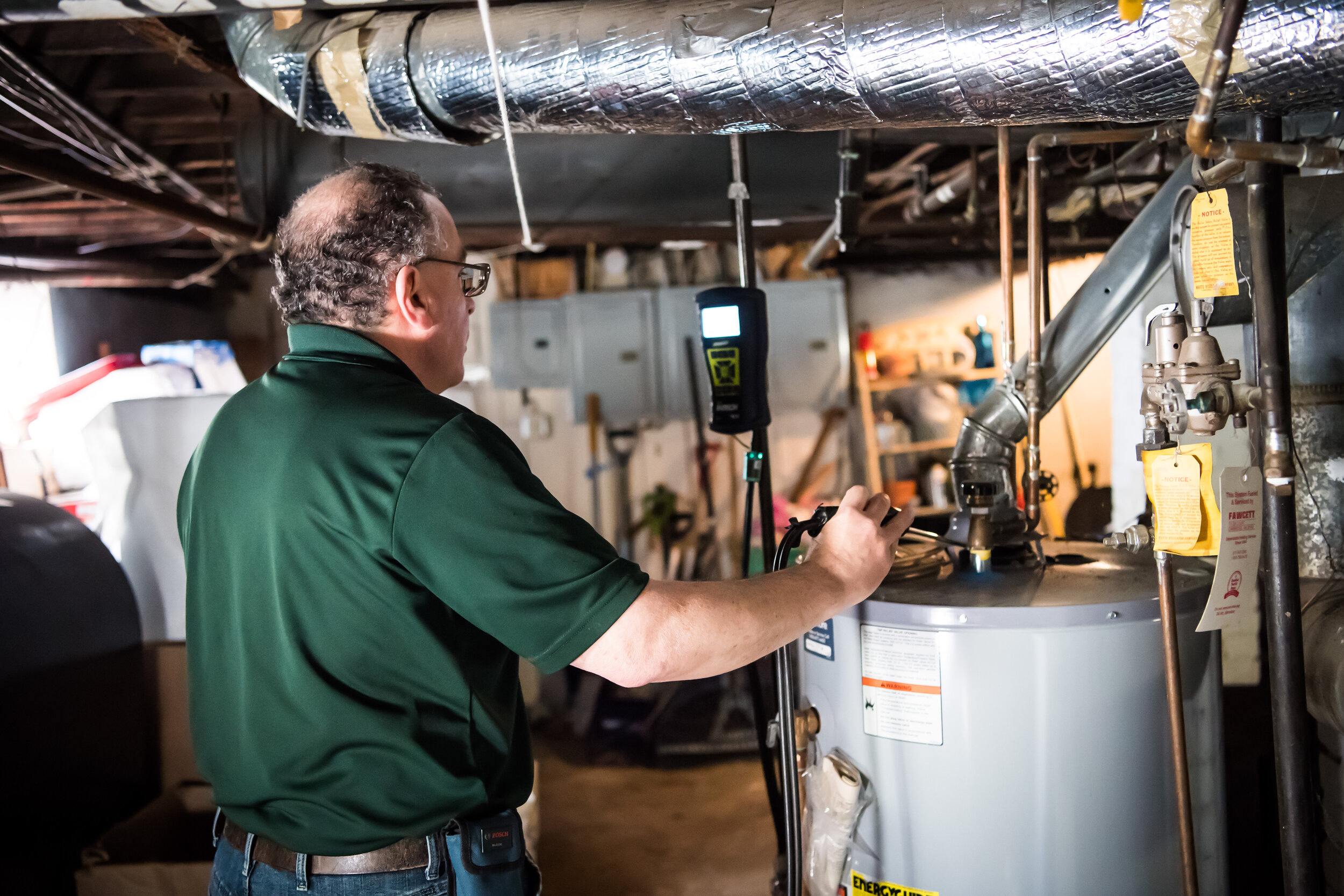 Our Home Energy Specialist will test your heating and hot water system to ensure it's running safely and efficiently.