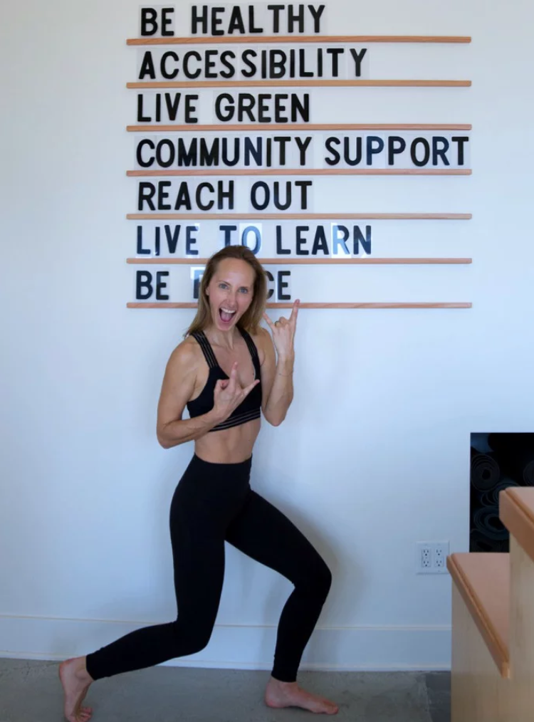 Deena Robertson, Co-Founder, Modo Yoga LA