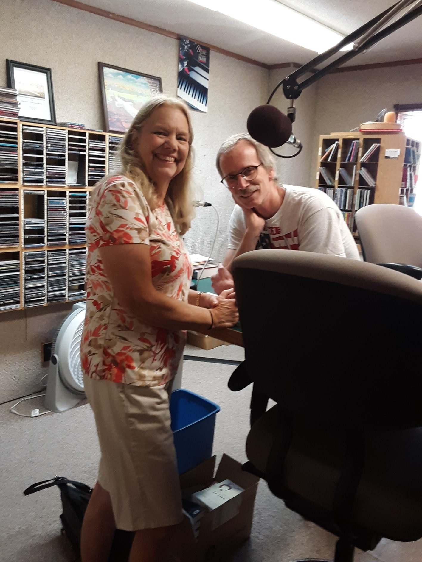 Marie Parker guest co-hosts on the Coffee Break with Russ on July 10th to talk about an upcoming VBS, and also an upcoming Children's Worker Training on August 17th at the Calvary Memorial Church in Gering. Calvary Memorial is teaming up with Group Publishing to offer your Children's Ministry Staff the opportunity to train and get inspired with other Children's Ministry workers. (July 10)