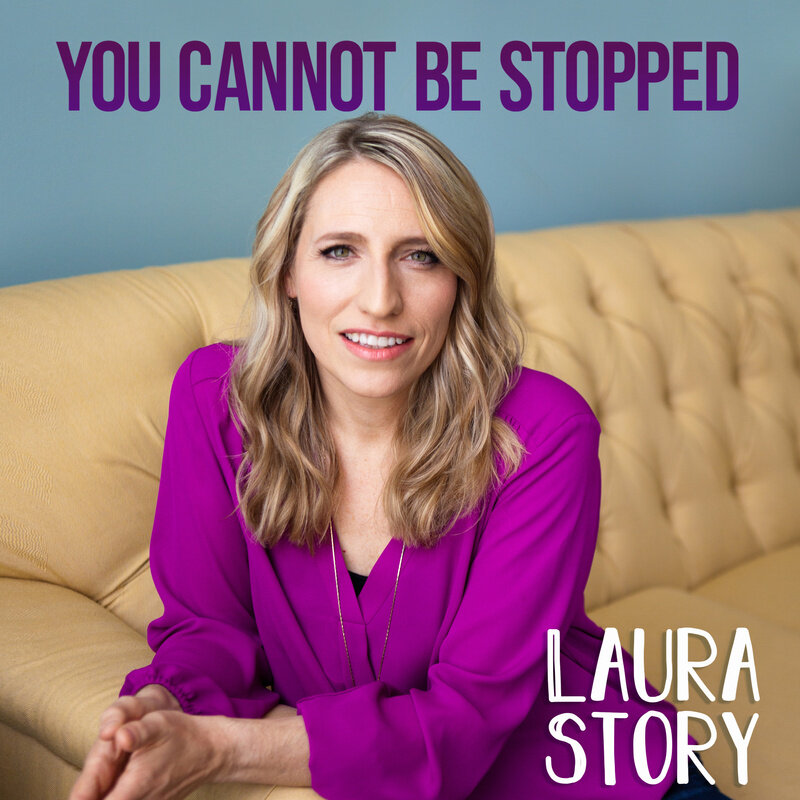 "You Cannot Be Stopped - Laura Story - ""Mover of mountainsBreaker of chainsJesus has triumphed over the graveSing hallelujahThe battle is wonNothing can stand against our God"""