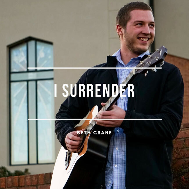 "I Surrender - Seth Crane - ""You lift me up through Your words so I can see YouYou call me out to follow Your willLord get my heart through this world so I can seek YouFather use me in this lifeI surrender"""