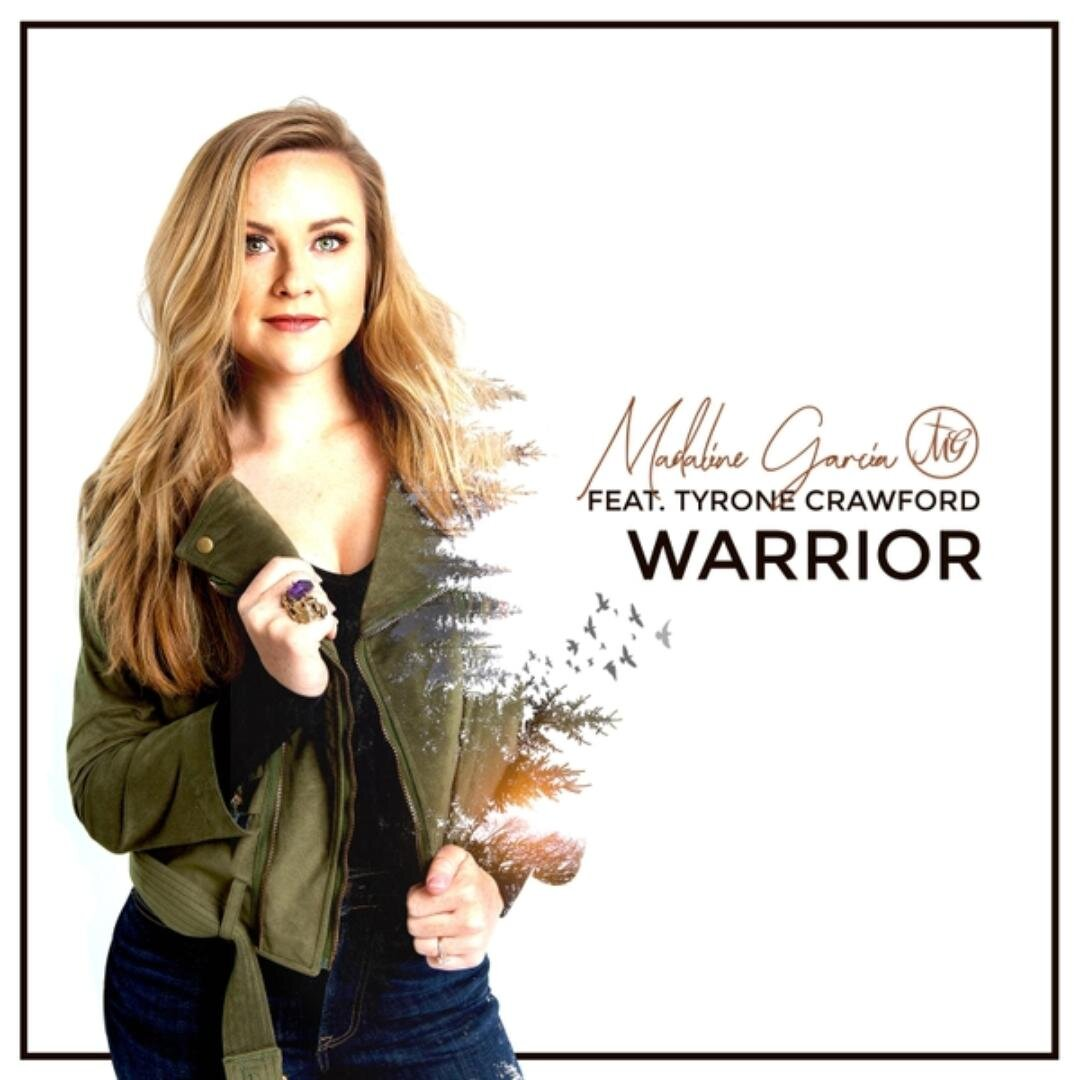 "Warrior - Madaline Garcia ft. Tyrone Crawford - ""You make me a warrior, warriorYou make me victorious, victoriousAll things are possibleWith You I'm unstoppableYou make me, yeah, a warrior"""