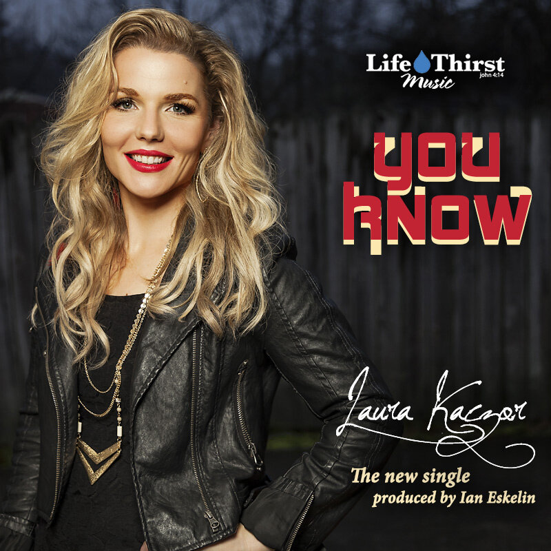 "You Know - Laura Kazcor - ""But You know, You knowAll I need is trust to followAnd I'll go, I'll goWalk with you into tomorrowYou know, you know, you know"""