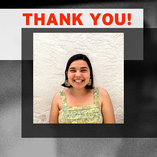 Hello! My name is Elena (the face behind the social media posts for the past 10 weeks). This is my last week interning with About...Productions and I wanted to say THANK YOU! What an incredible and fun learning experience I've had working and doing research with professional theater-makers, artists, and collaborators this summer. I am so grateful to Theresa, Gabe, DeAnne, and @LACountyArts for this incredible opportunity ❤️#artsinternla